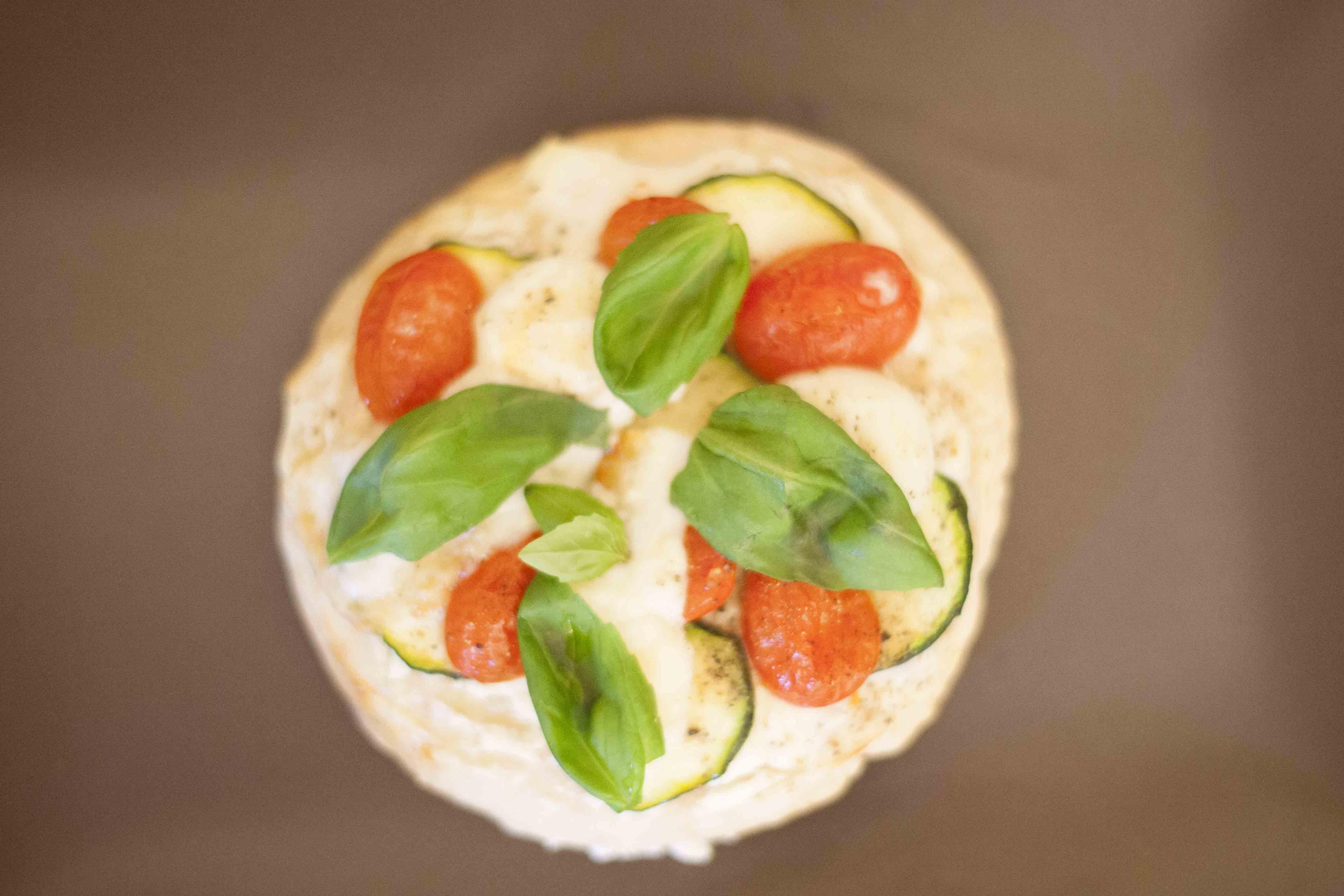 pizza pita format