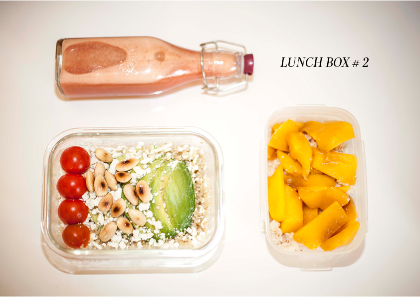 lunch box 2 texte