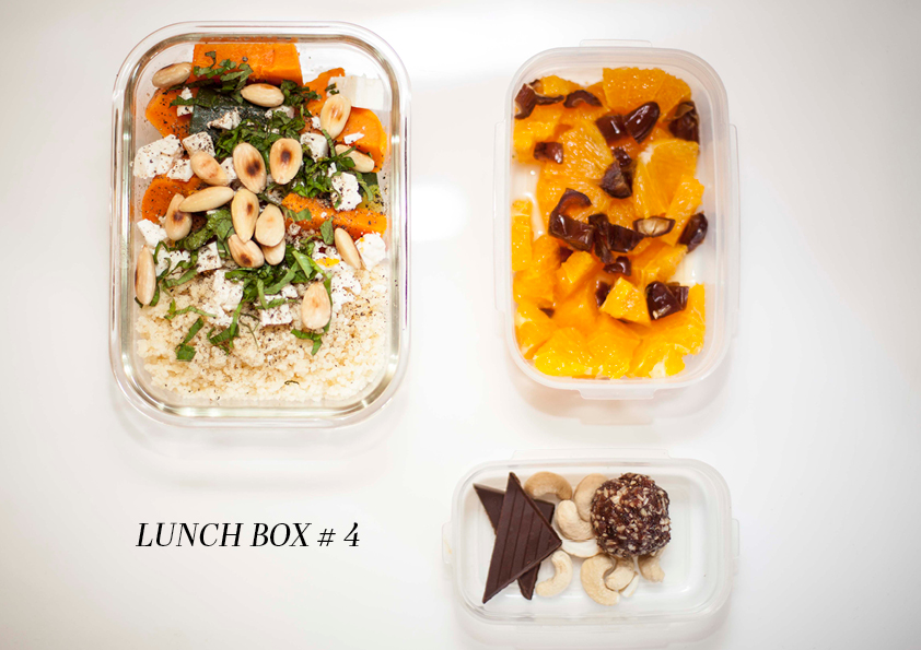 lunch box 4 texte