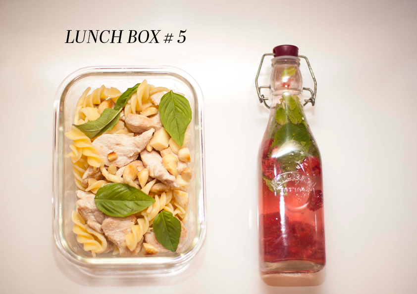 lunch box 5 texte